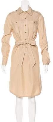 Tory Burch Knee-Length Collared Dress