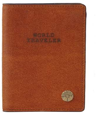 Most Wanted Design by Carlos Souza World Traveler Leather Passport Holder