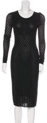 Temperley London Long Sleeve Midi Dress
