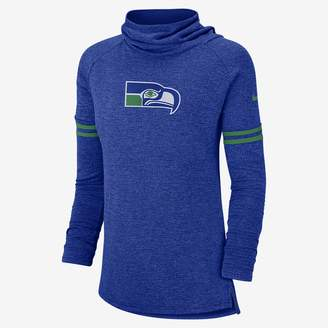 Nike NFL Seahawks) Women's Long Sleeve Top