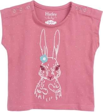 Hatley Pretty Bunny Organic Cotton T-Shirt