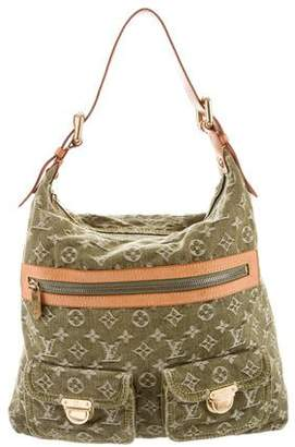 Pre Owned At Therealreal Louis Vuitton Denim Baggy Gm