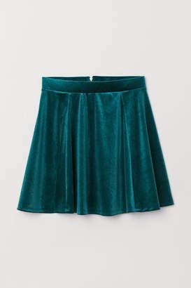 H&M Skater Skirt - Green