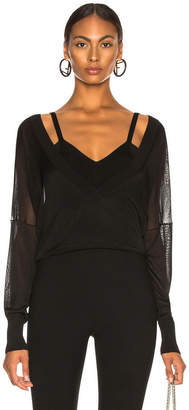 Dion Lee Layered Loop Sweater