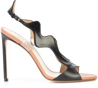 Francesco Russo wavy sandals