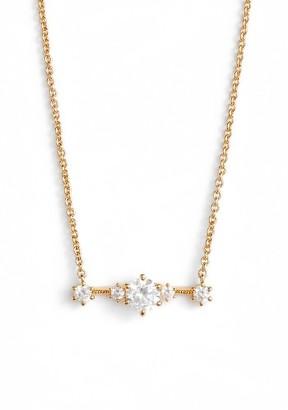 Women's Nadri Edwardian Crystal Bar Necklace $55 thestylecure.com