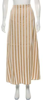 The Row Striped Maxi Skirt