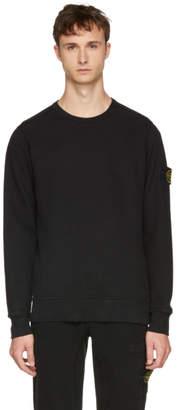 Stone Island Black Arm Badge Sweatshirt