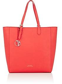 Versace WOMEN'S LEATHER TOTE BAG-RED