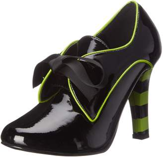 Funtasma Women's Tes14/B-LM Platform Dress Sandal