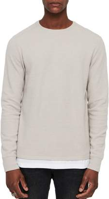 AllSaints Luge Solid Long Sleeve T-Shirt