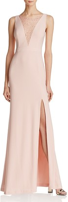 Adrianna Papell Lace-Inset Gown - 100% Exclusive $179 thestylecure.com