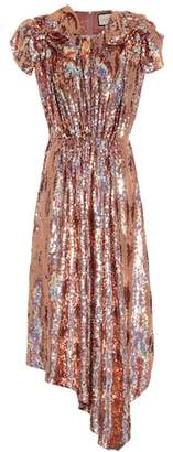 Gucci Sequinned silk dress