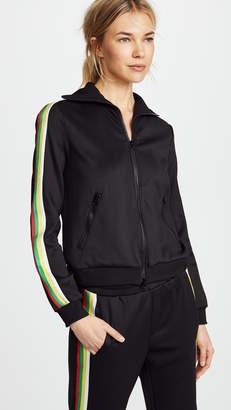 Pam & Gela Track Jacket with Stripes
