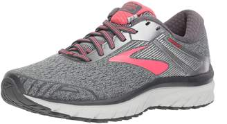 Brooks Women's Adrenaline GTS 18 D Running Shoe (BRK-120268 1D 3935180 8.5 EBO/SIL/PNK)