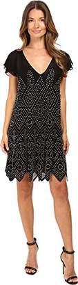 Just Cavalli Women's Embellished Mesh Runway Dress