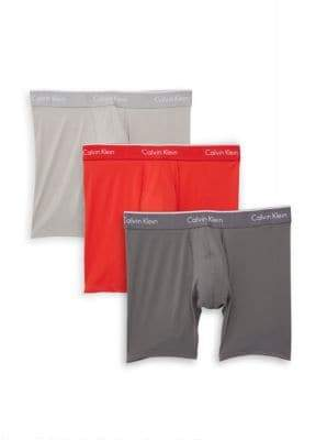 Calvin Klein Three-Pack Boxer Briefs