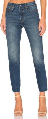 LEVI'S Wedgie Skinny $88 thestylecure.com