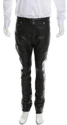Saint Laurent 2015 Leather Pants