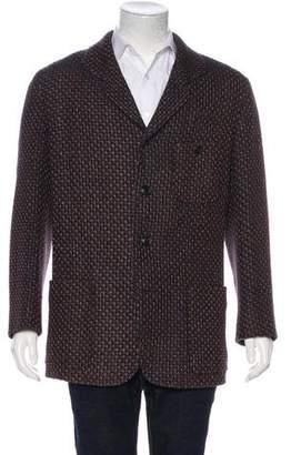Issey Miyake Wool & Cashmere Woven Blazer
