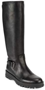 Prada Knee-High Moto Boots