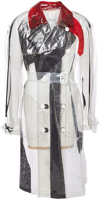 Maison Margiela Transparent Trench Coat