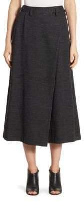 Wool Wrap Pants
