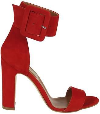 Paris Texas Buckle Ankle Strap Sandals