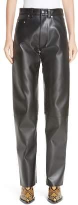 Kwaidan Editions Faux Leather Moto Pants