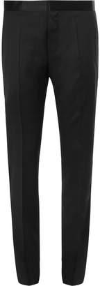 HUGO BOSS Black Gilan Slim-Fit Super 120s Virgin Wool Tuxedo Trousers