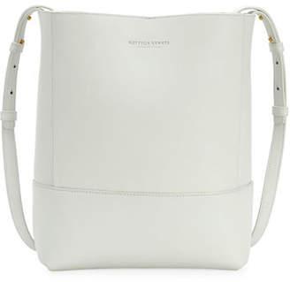 Bottega Veneta Small Napa Leather Crossbody Bucket Bag