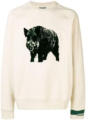 Lanvin boar sweatshirt