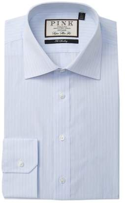 Thomas Pink Henrik Stripe Super Slim Fit Dress Shirt