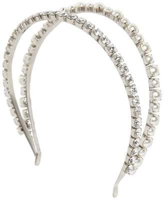 Miu Miu Embellished Double Headband