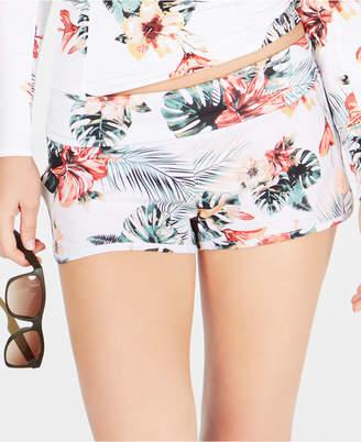 Roxy Juniors' Printed Swim Shorts Women's Swimsuit