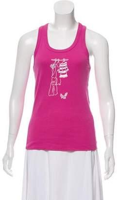 Sonia Rykiel Embellished Sleeveless Top