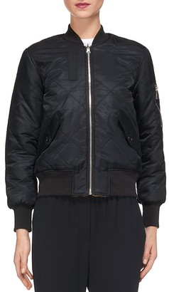 Whistles Carter Reversible Bomber Jacket $280 thestylecure.com