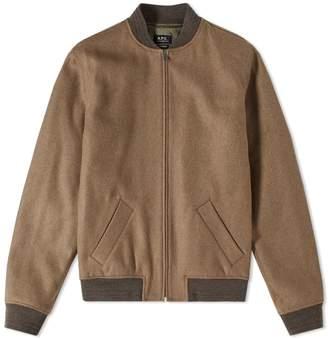 A.P.C. Gaston Wool Bomber Jacket