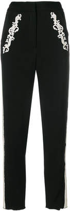 Just Cavalli high-waist cropped trousers