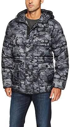 Hawke & Co Men's Hooded Puffer Field Jacket