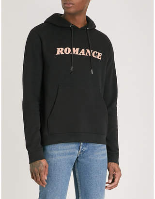 Sandro Slogan cotton-jersey hoody