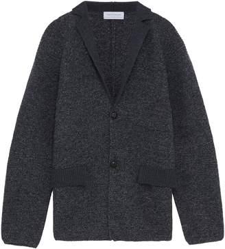 TOMORROWLAND Notched lapel wool cardigan