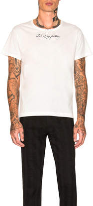 Ann Demeulemeester Short Sleeve Top