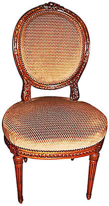 One Kings Lane Vintage Antique French Louis XVI Chairs - Set of 2 - House of Charm Antiques