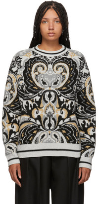 See by Chloe Multicolor Giant Paisley Jacquard Sweater