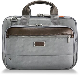 ddecec6fdb6b Briggs & Riley @work Small Expandable Ballistic Nylon Laptop Briefcase with  RFID Pocket