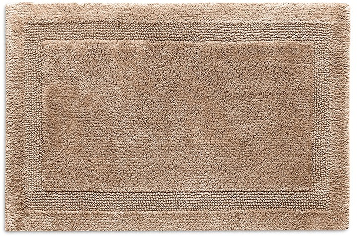 AbyssAbyss Super Pile large reversible bath mat - Taupe