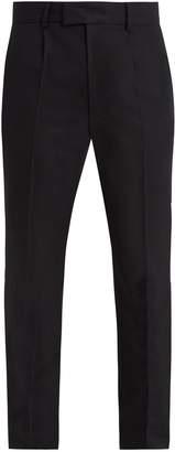 Raey Slim-leg wool tuxedo trousers