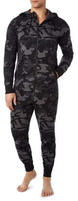 2xist Terry Flight Jumpsuit Pajamas