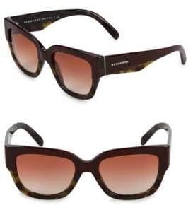 Burberry 53MM Wayfarer Sunglasses